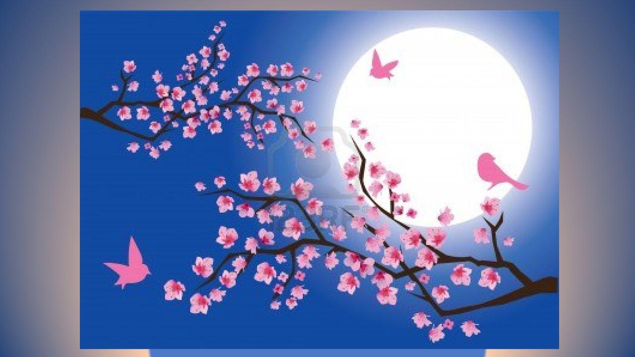 Maintenant les oiseaux jubilent En becquetant les fruits juteux Puis sen vont gais et volubiles Crier un éloge au Bon Dieu.