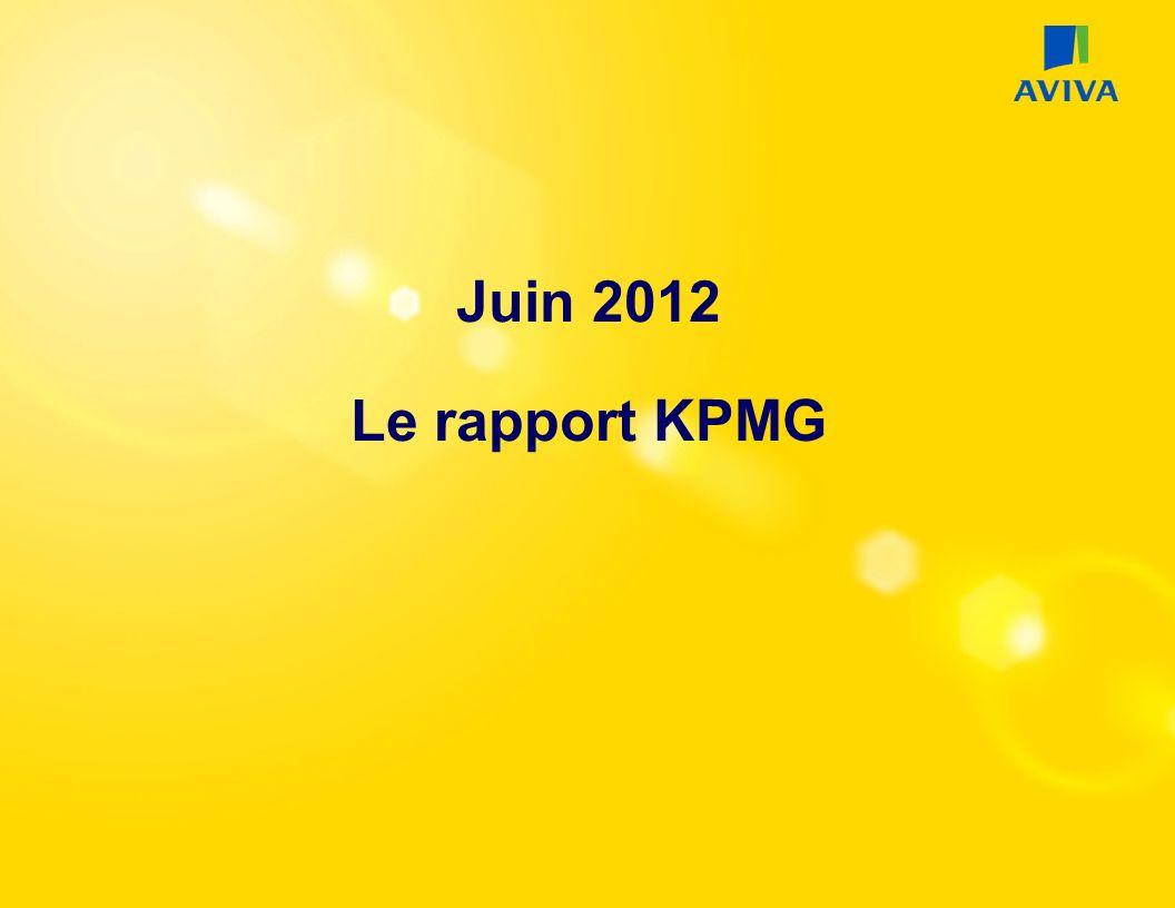 Juin 2012 Le rapport KPMG