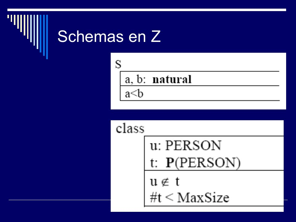 Schemas en Z