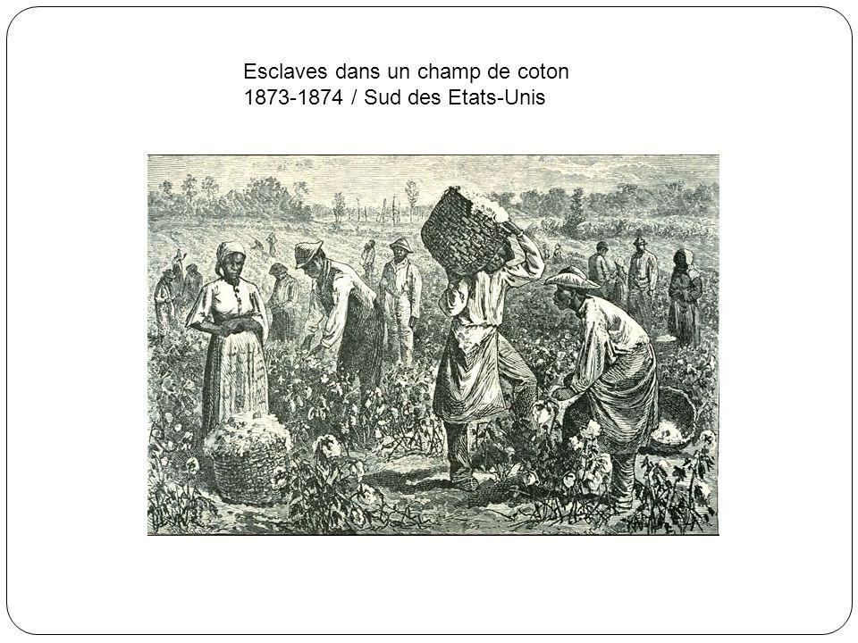 Chaînes et instruments employés par les commerçants d'esclaves / 19e siècle