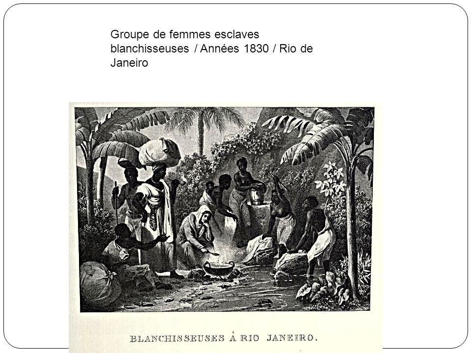 Punitions publiques sur la place Sainte Anne Années 1830 / Brésil