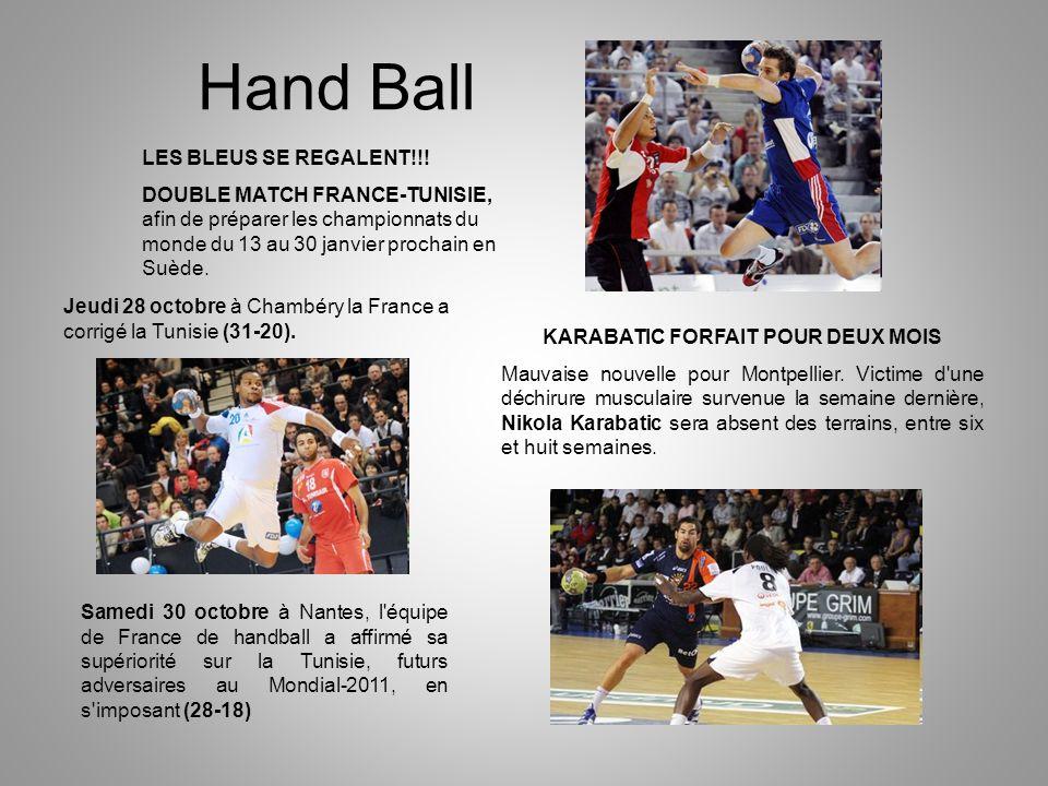Hand Ball LES BLEUS SE REGALENT!!.