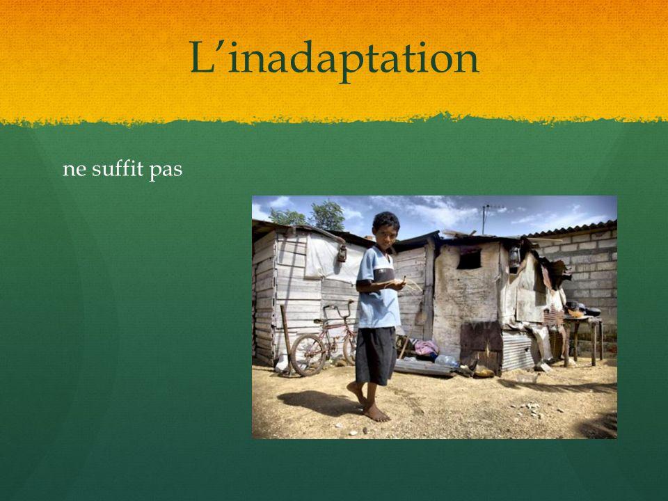 Linadaptation ne suffit pas