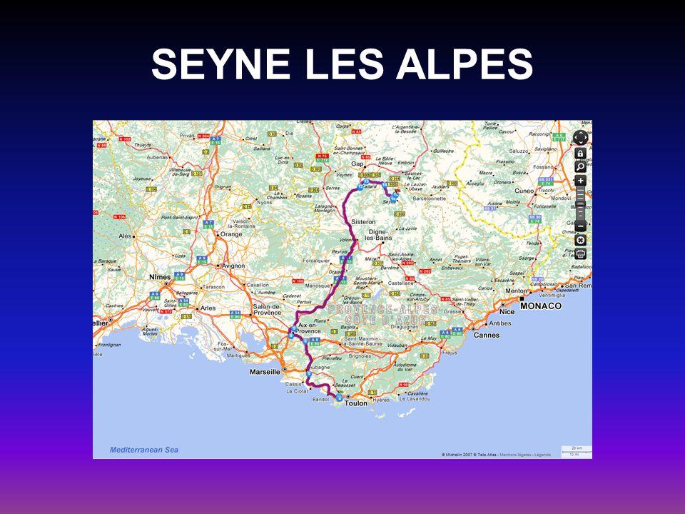 SEYNE LES ALPES