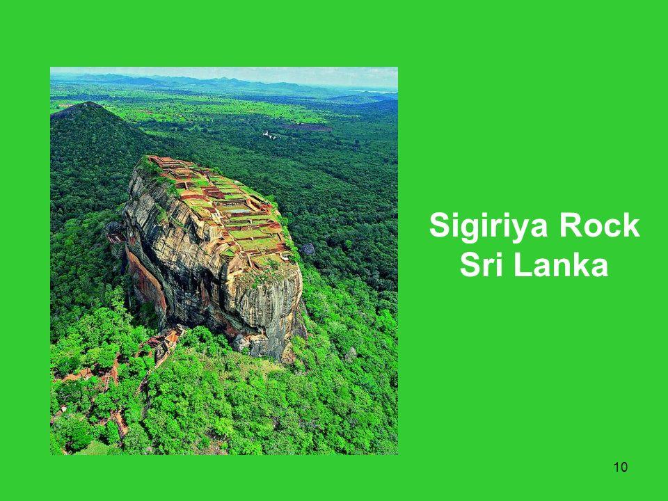 10 Sigiriya Rock Sri Lanka