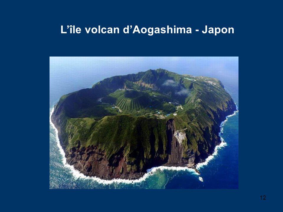 12 Lîle volcan dAogashima - Japon