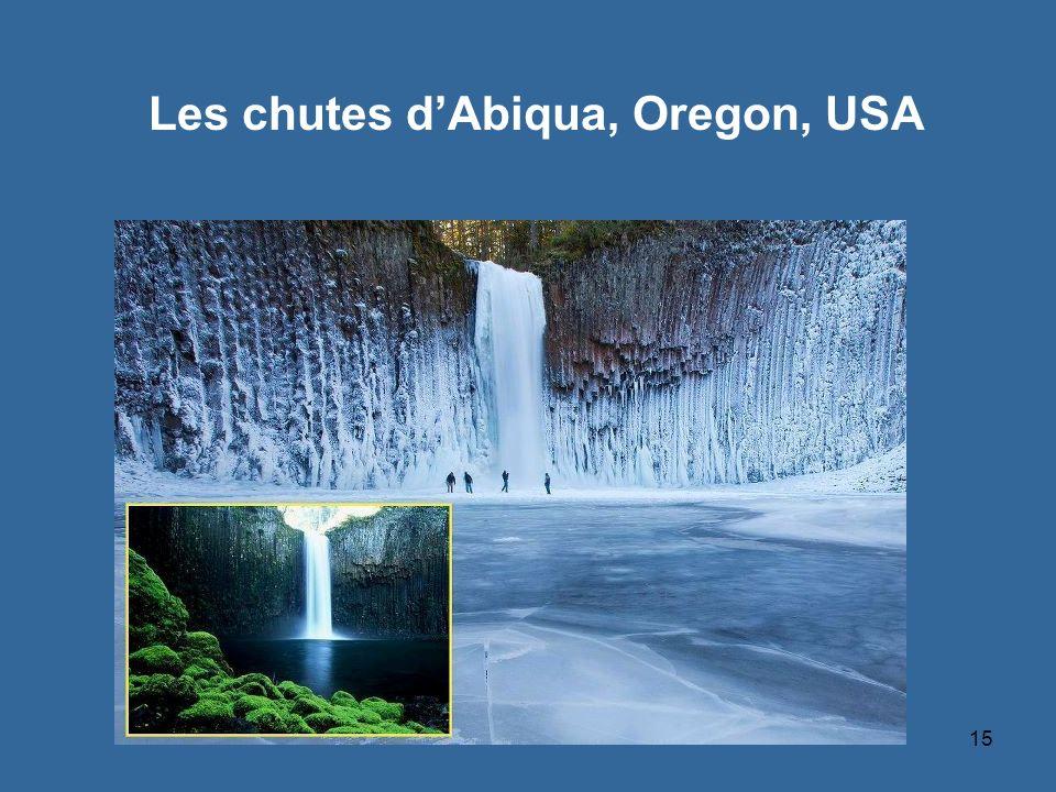15 Les chutes dAbiqua, Oregon, USA