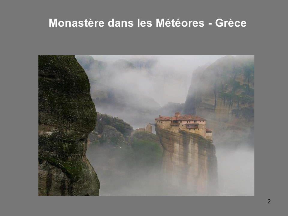 2 Monastère dans les Météores - Grèce