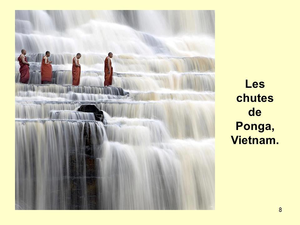 8 Les chutes de Ponga, Vietnam.