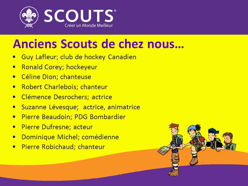 Guy Lafleur; club de hockey Canadien Ronald Corey; hockeyeur Céline Dion; chanteuse Robert Charlebois; chanteur Clémence Desrochers; actrice Suzanne L