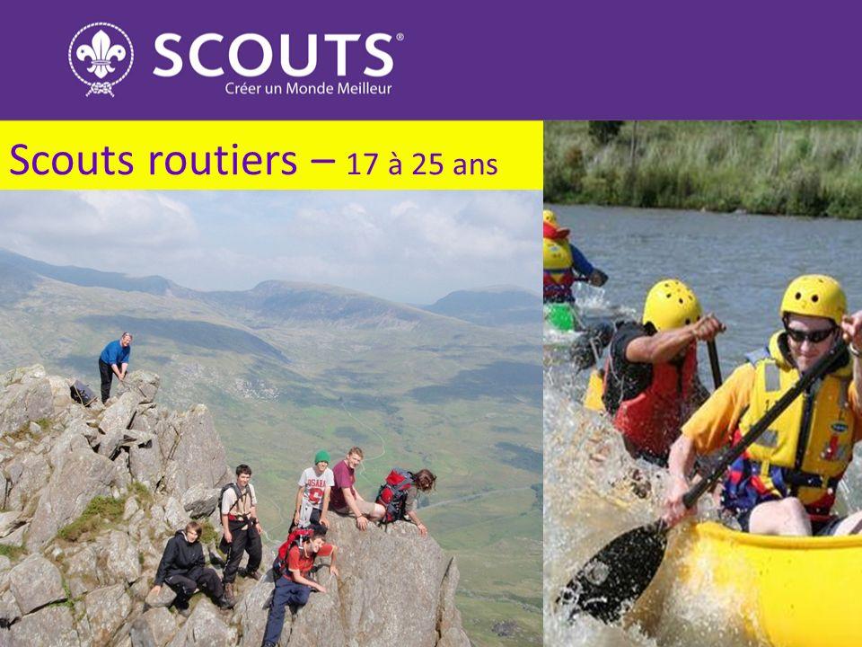 Scouts routiers – 17 à 25 ans