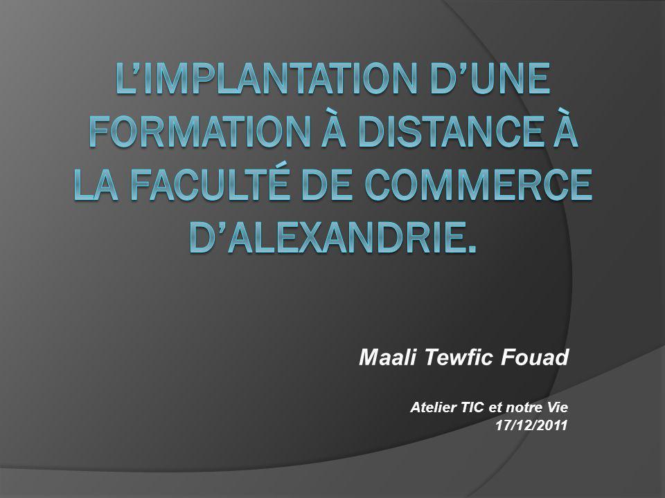 Maali Tewfic Fouad Atelier TIC et notre Vie 17/12/2011
