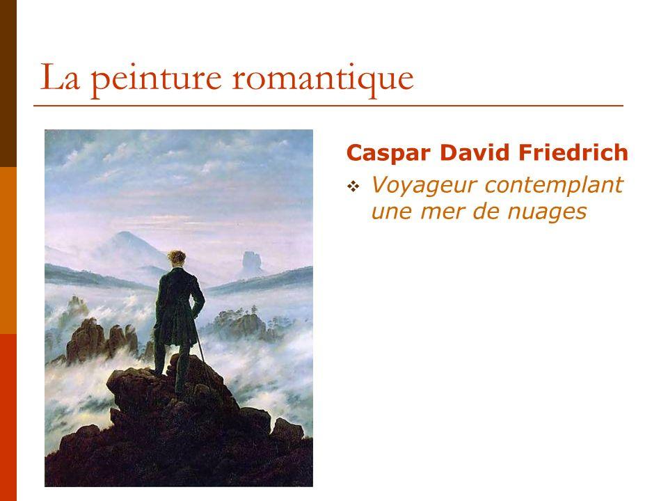 La peinture romantique Théodore Géricault LAliéné cleptomane (1822)