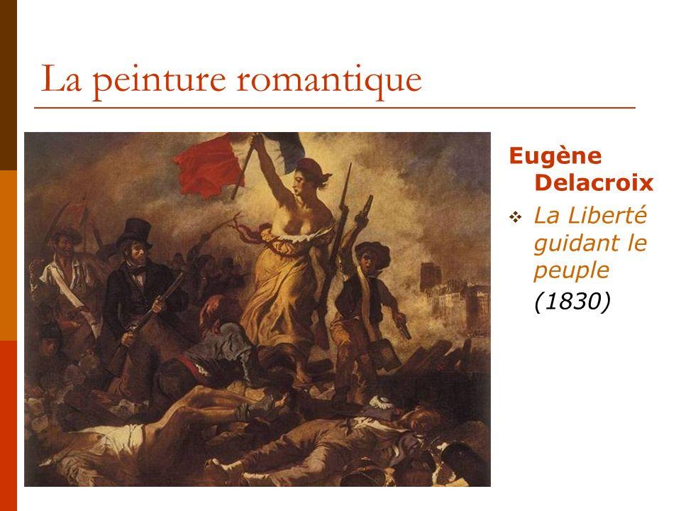 La peinture romantique Eugène Delacroix Esquisse pour la chasse aux lions (1854)