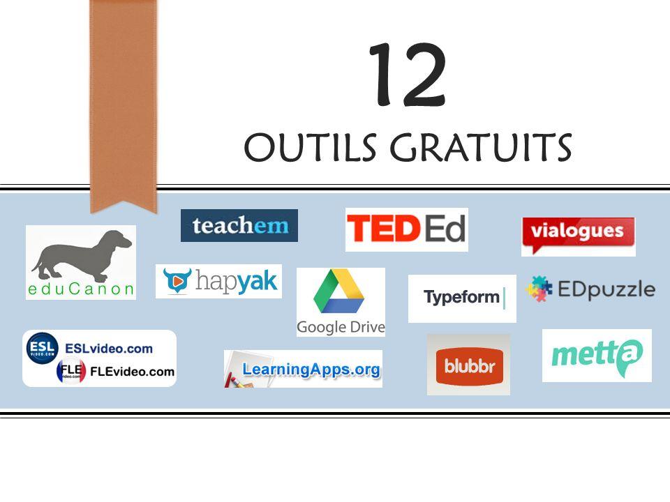 12 OUTILS GRATUITS