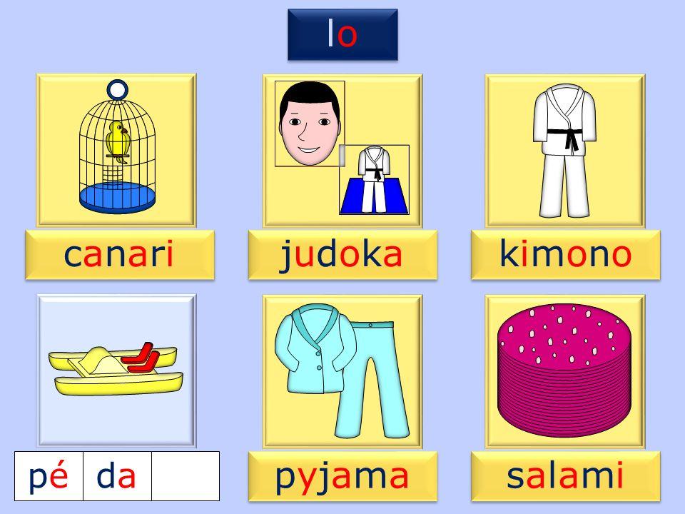 4 pypy pypy pépédadajajamama kimonokimono kimonokimono salamisalami salamisalami canaricanari canaricanari judokajudoka judokajudoka