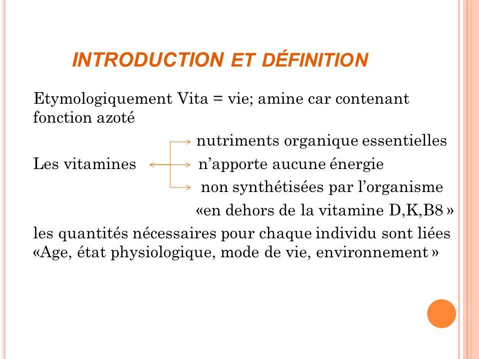 M ÉTABOLISME Le mécanisme dabsorption de la vitamine K se fait différemment selon que ce soit de la K1 ou de la K2.