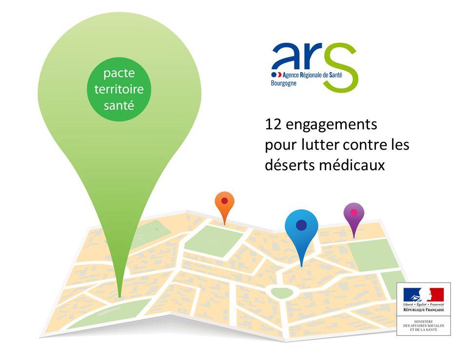 Objectif 2 : Transformer les conditions dexercice des professionnels de santé Zoom sur la Saône et Loire...
