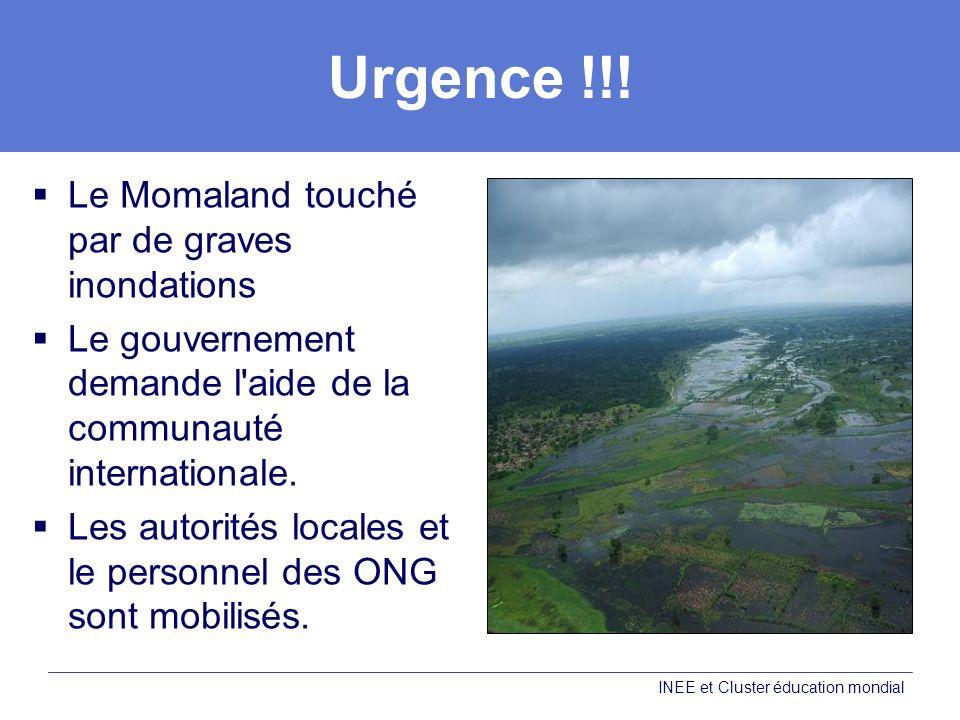 Urgence !!! Le Momaland touché par de graves inondations Le gouvernement demande l'aide de la communauté internationale. Les autorités locales et le p