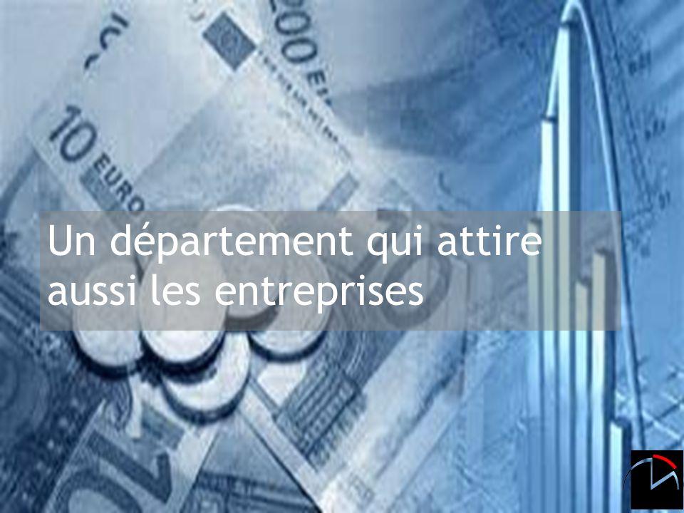 Daniel Martinelli 8 janvier 2008 Un département qui attire aussi les entreprises
