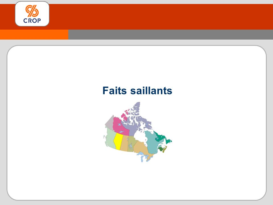 Faits saillants