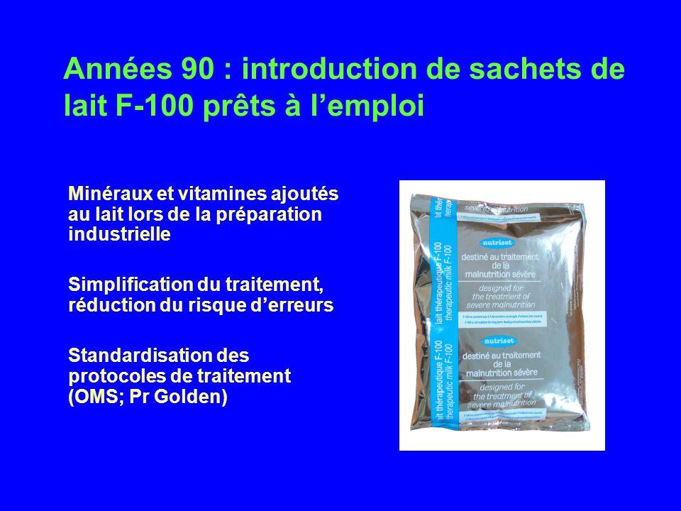 Minéraux et vitamines ajoutés au lait lors de la préparation industrielle Simplification du traitement, réduction du risque derreurs Standardisation d
