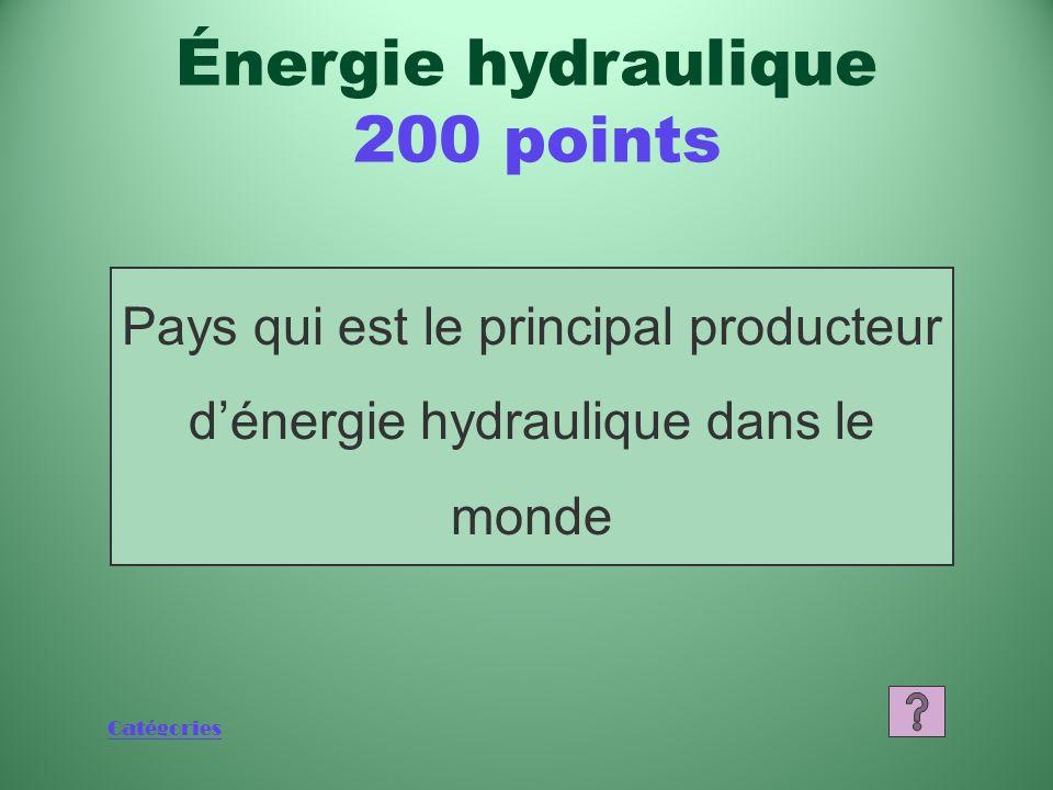 Catégories Production dont lénergie nucléaire représentait 15 % en 2007 Énergie nucléaire 200 points