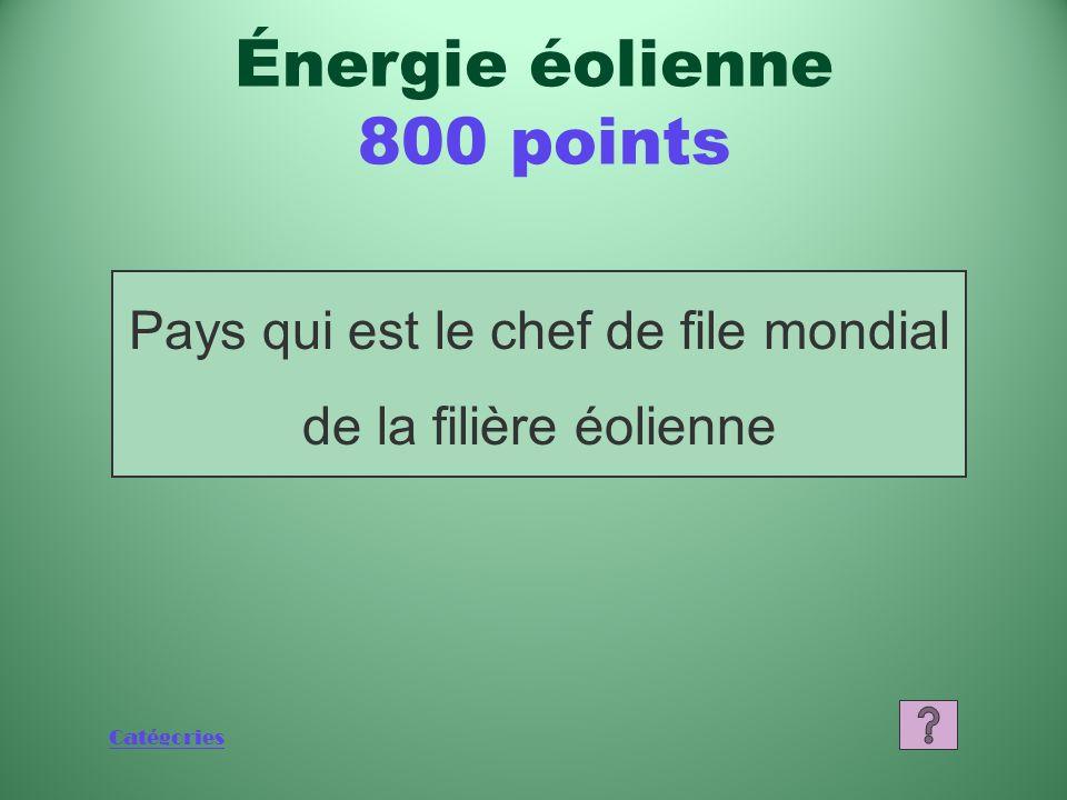 Catégories Quest-ce que lénergie mécanique du vent Énergie éolienne 600 points
