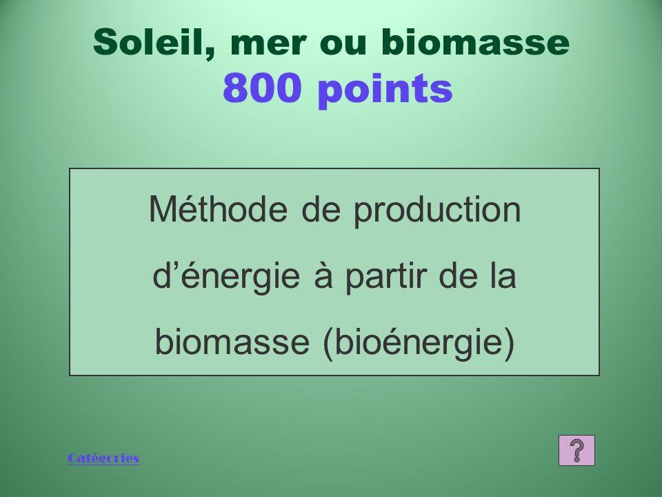 Catégories Quest-ce quun barrage marémoteur Soleil, mer ou biomasse 600 points