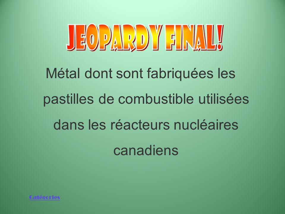 Catégories La catégorie est : Énergie nucléaire