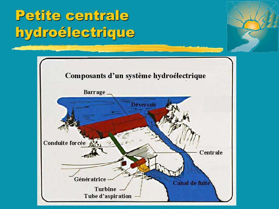Petite centrale hydroélectrique