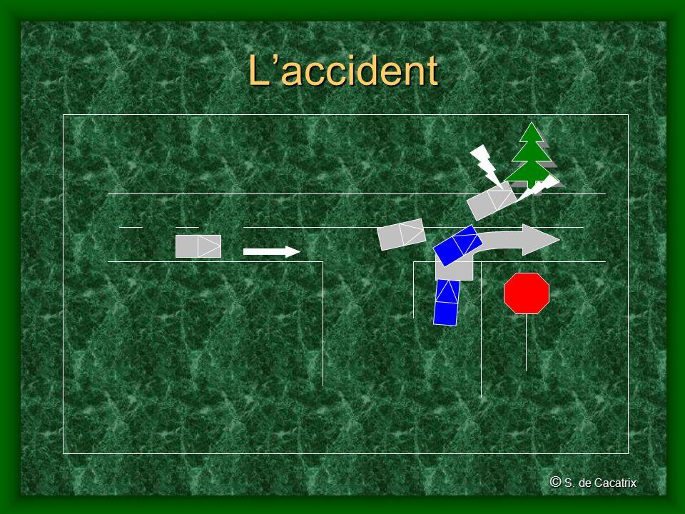 Conséquences dun accident de la route © S.Dumuid