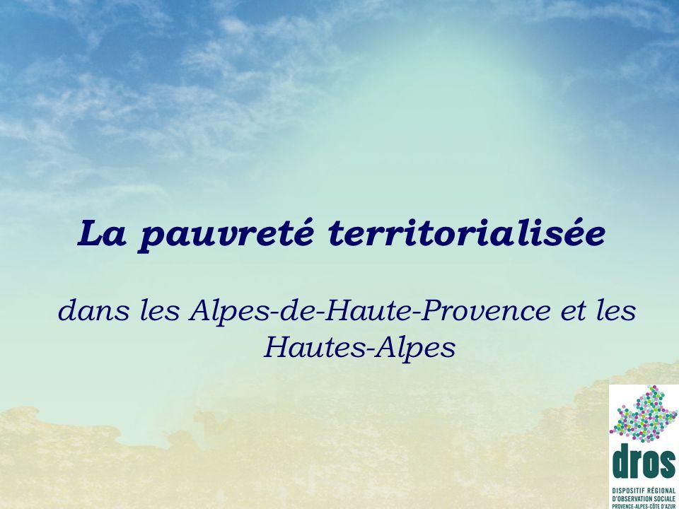 La pauvreté territorialisée dans les Alpes-de-Haute-Provence et les Hautes-Alpes