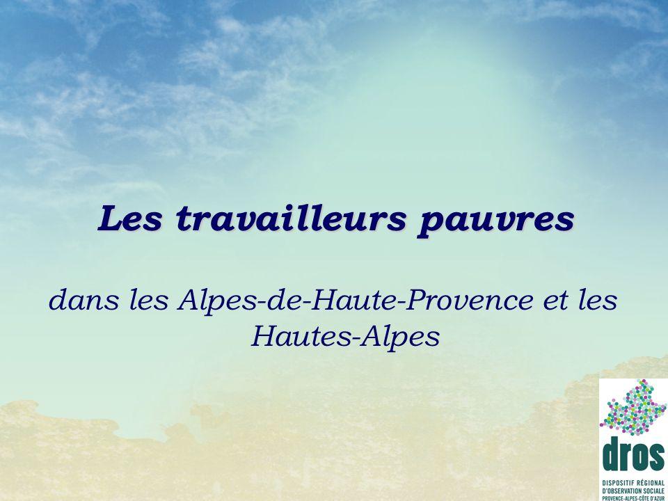 Les travailleurs pauvres dans les Alpes-de-Haute-Provence et les Hautes-Alpes