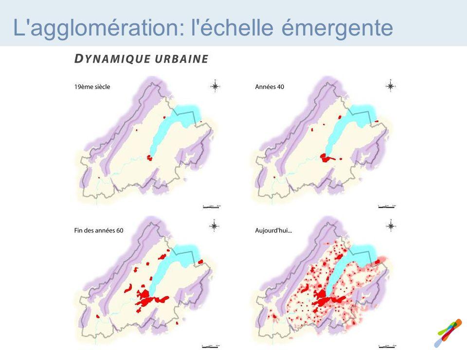 L agglomération: l échelle émergente