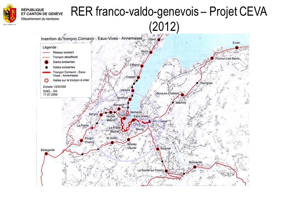 10 km RER franco-valdo-genevois – Projet CEVA (2012)