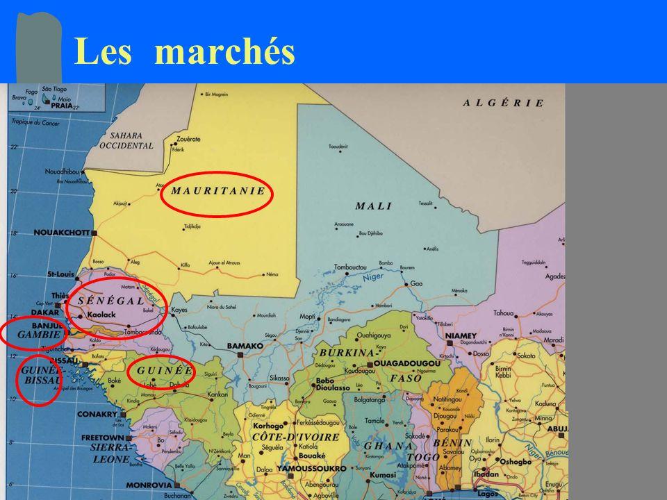 Marrakech 26/30 Avril 2004 Ministère de l Energie et des Mines du Sénégal19 Les marchés