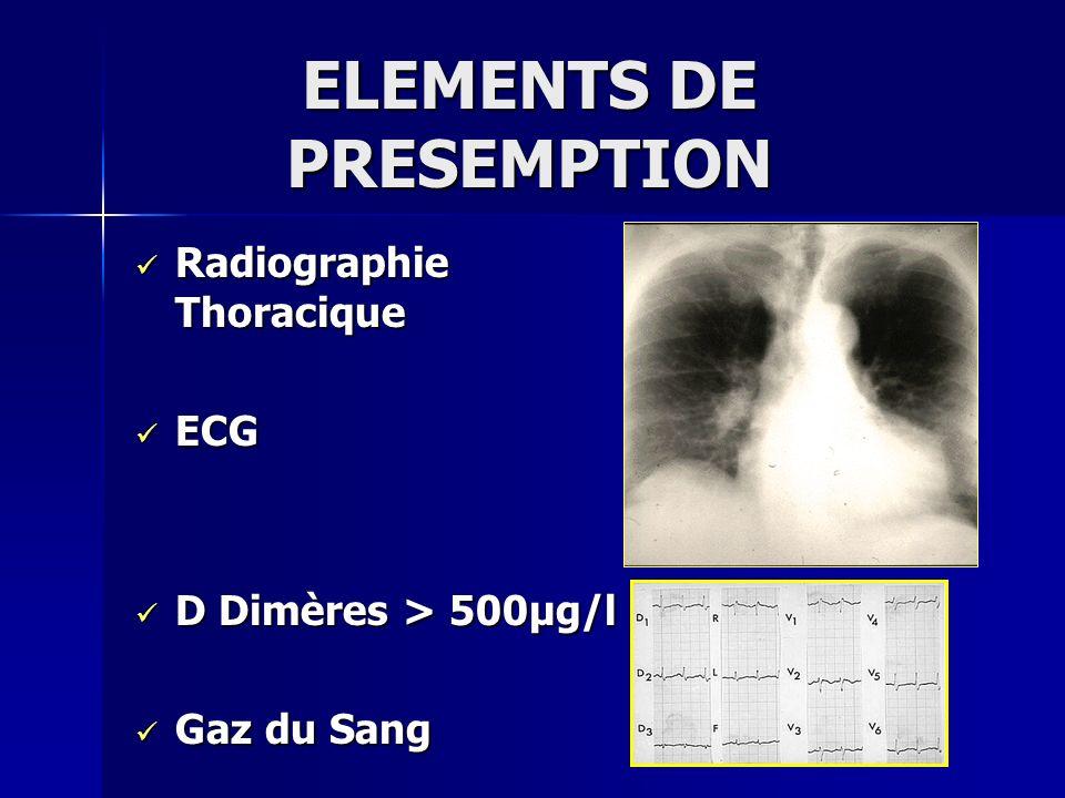 CONFIRMATION DU DIAGNOSTIQUE (1) Echographie cardiaque Echographie cardiaque Echo Doppler des MI Echo Doppler des MI