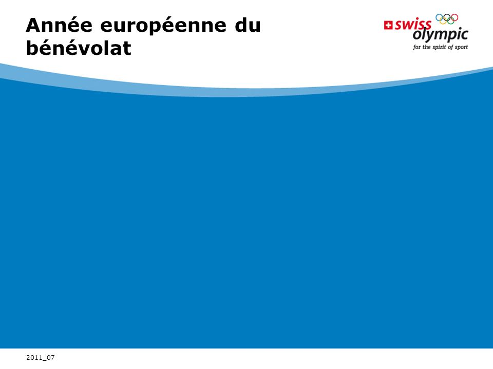 Année européenne du bénévolat