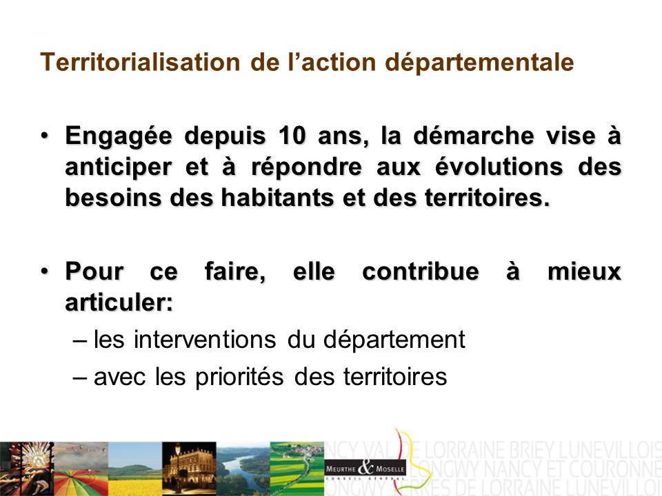Le CTDD du territoire du Val de Lorraine Volet 2 : Priorités partagées 2.