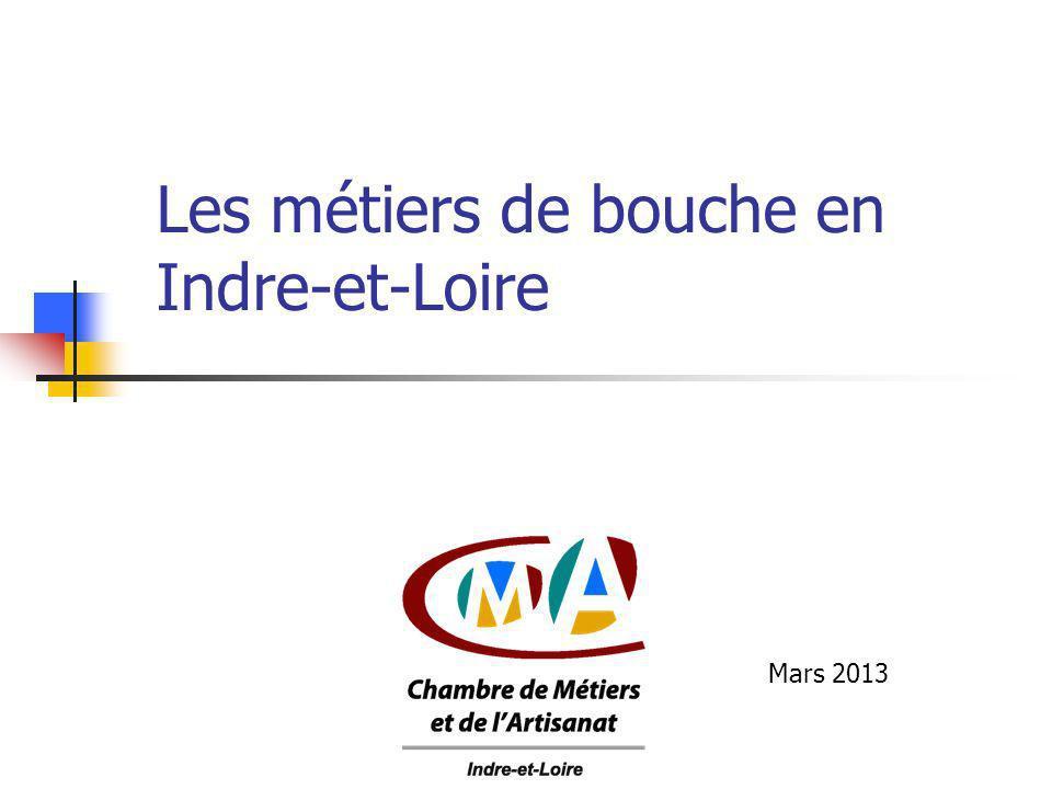 Les métiers de bouche en Indre-et-Loire Mars 2013