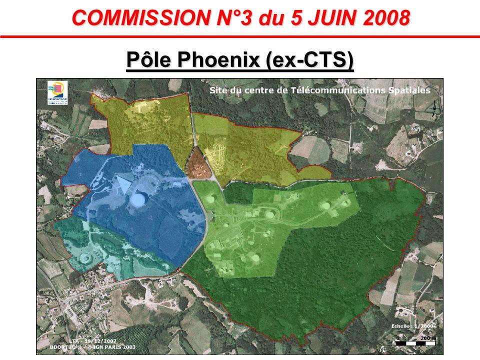 Pôle Phoenix (ex-CTS) COMMISSION N°3 du 5 JUIN 2008
