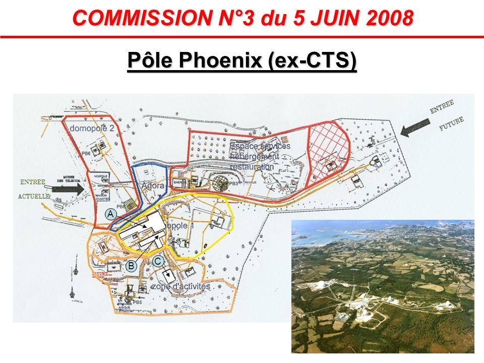 Pôle Phoenix (ex-CTS) COMMISSION N°3 du 5 JUIN 2008 A B C