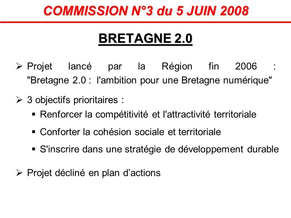 Projet lancé par la Région fin 2006 :