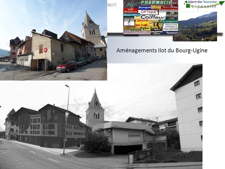 Aménagements Ilot du Bourg-Ugine