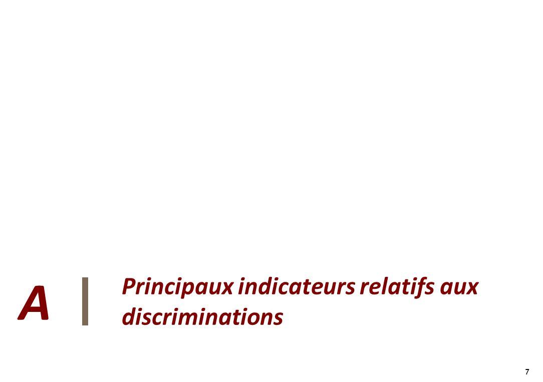7 7 Principaux indicateurs relatifs aux discriminations A