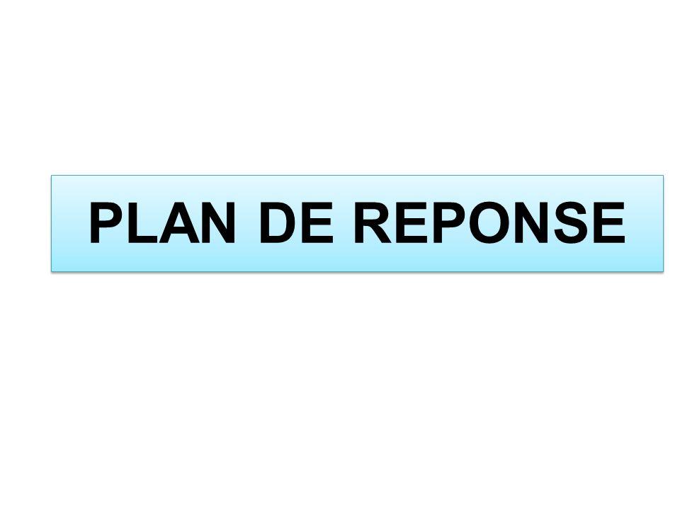 PLAN DE REPONSE