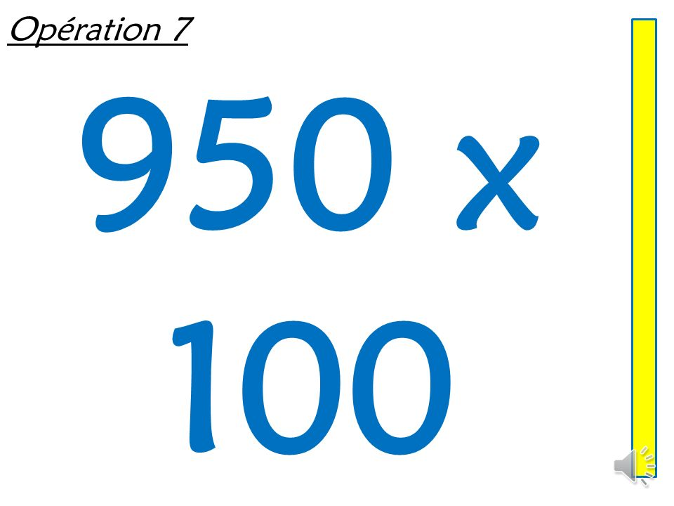Opération 6 72 x 1 000