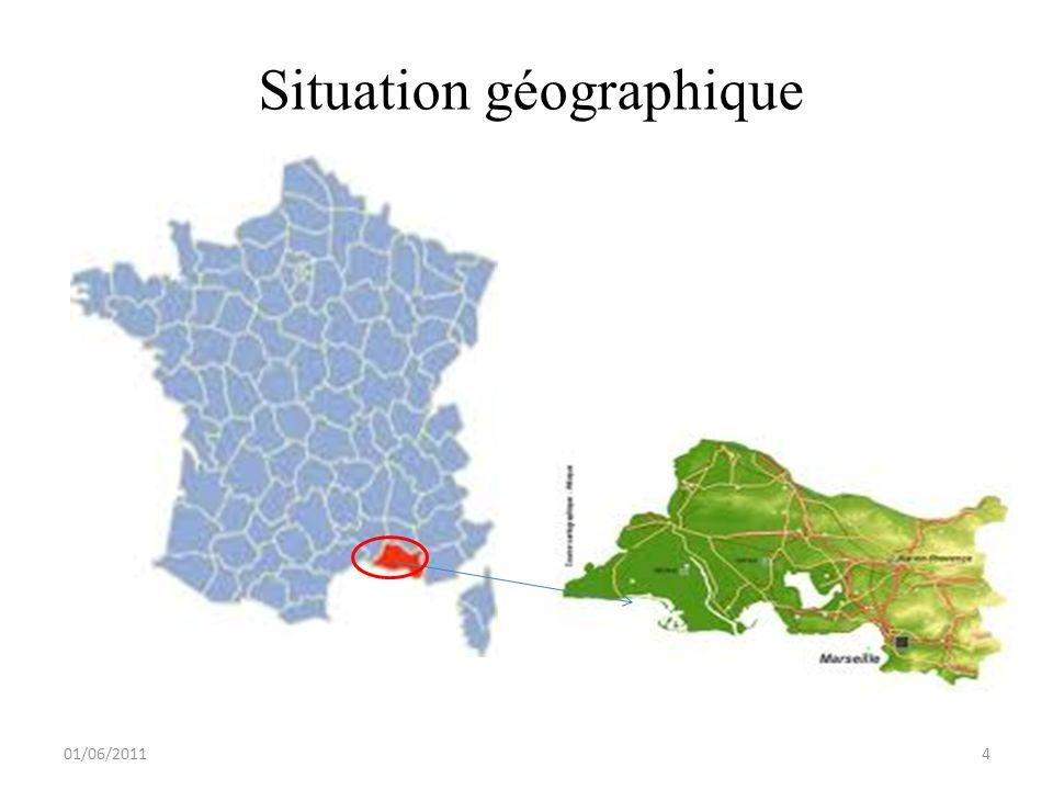 Situation géographique 01/06/20114