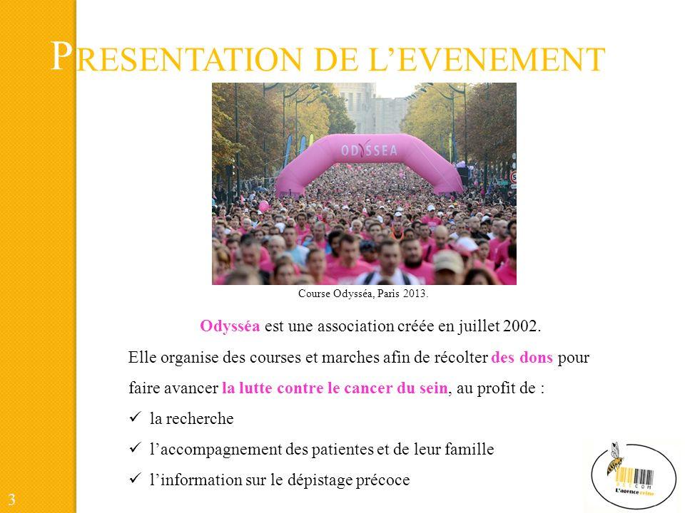 P RESENTATION DE LEVENEMENT Odysséa est une association créée en juillet 2002.